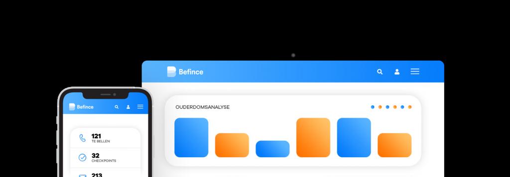 debiteurenbeheer software tablet iphone
